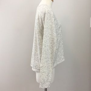 Wilfred Tops - Aritzia - Wilfred Free Ivory/Grey L/S T-Shirt